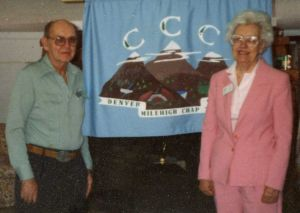 Lou and Fleta Boyer, Chapter 7 member photos, 1990s.